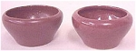 Click here to enlarge image and see more about item T1525-B: ZSC small cups in rose glaze