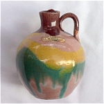 Click to view larger image of North Carolina Tourist Ware Jug w/ Label (Image1)