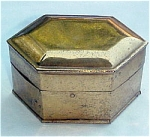 Click here to enlarge image and see more about item T1807: Rolled Brass Box