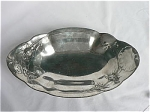 Click here to enlarge image and see more about item T1852: Kayserzinn Oblong Tray Bee and Flowers