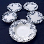 Click to view larger image of Vienna Pattern Dishes circa 1880 (Image1)