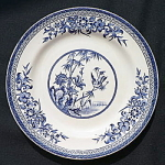 Bamboo Pattern Romantic Staff. Plate