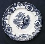 Click here to enlarge image and see more about item T1911: Eagle Plate circa 1850 - #1