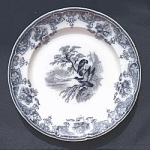 Click here to enlarge image and see more about item T1912: Eagle Plate circa 1850 - #2