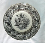 Click to view larger image of DeFete Pattern Transfer Soup Bowl (Image1)