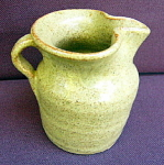 Click to view larger image of Monticello Pottery Pitcher (Image1)