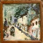 Click to view larger image of Ron Blumberg Hand Painted Tile (Image4)