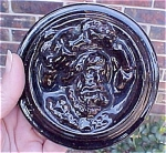 Click to view larger image of Rare Zanesville Majolica Stove Tile (Image1)