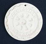 Click here to enlarge image and see more about item ZvilleRotary: Zanesville Rotary Tile Medallion by Mosaic