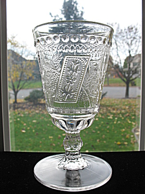 Eapg Good Luck Goblet w/Knob Stem (Image1)