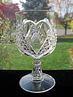 Antique Eapg Heart with Thumbprint Goblet (Image1)