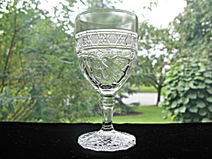Antique Bird & Strawberry Wine Goblet (Image1)
