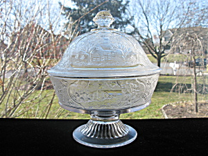 Eapg Canadian Pattern Covered Compote (Image1)