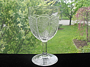 Antique Eapg Boston & Sandwich Arched Grape Goblet (Image1)
