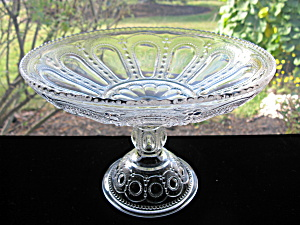 Antique Eapg Wisconsin True Open Compote/fruit Bowl