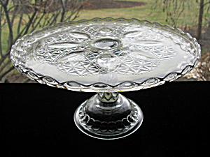 Antique Eapg Oregon Cake Stand