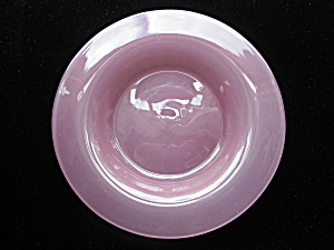 Steuben Glass Rosaline Plate -Frederick Carder (Image1)