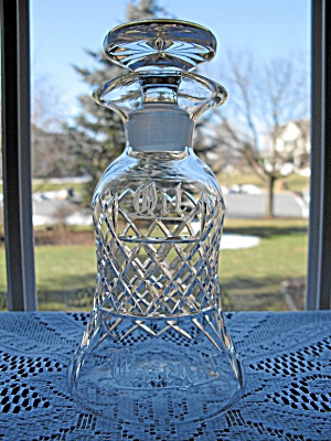Cambridge Glass Belfast Cut French Dressing Bottle