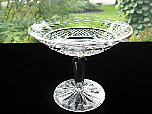 Waterford Crystal Footed Candy/mint Comport Dish
