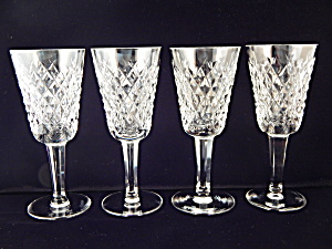 Waterford Crystal Sherry Stems - Set Of 4