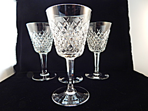 Waterford Crystal Red Wine/claret Stems - Set Of 4