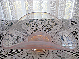 Fostoria Seascape Opalescent Coral Sand Oval Tray (Image1)