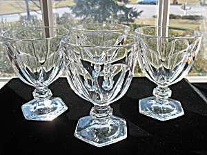 Heisey Puritan Goblets Set Of 4