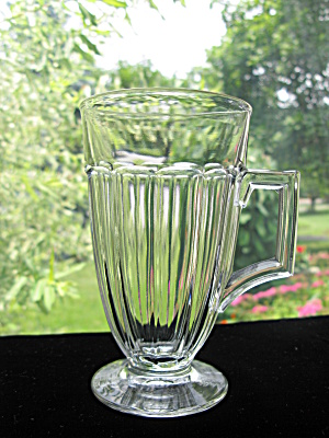 Heisey Narrow Flute Handled Iced Tea Tumbler