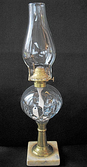 Antique Eapg Hobbs Brockunier & Co. Oil Lamp - Veronica
