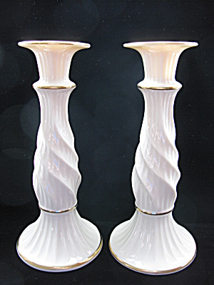 Lenox Richmond Collection Tall Candlesticks - Pair (Image1)
