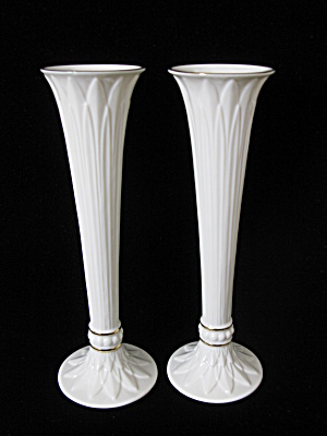 Lenox Tivoli Collection Bud Vases - Pair (Image1)