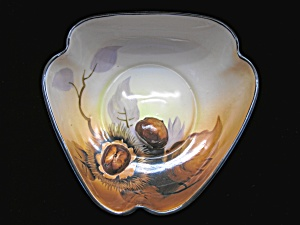 Noritake Acorn Shaped Figural Nut Bowl