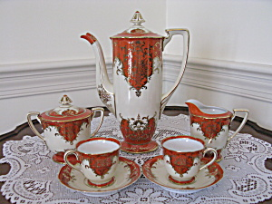 Vintage Noritake 19 Pc. Chocolate/demi Tasse Set