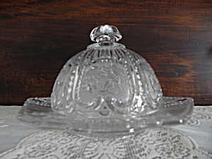 Eapg Antique Maine Pattern Butter Dish