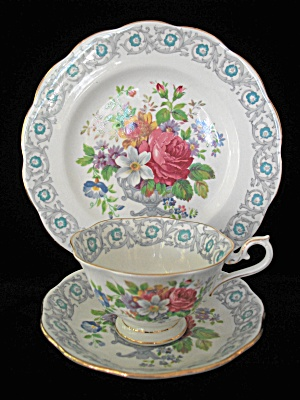 Vintage Royal Albert Trio - Fragrance