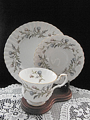 Royal Albert Bone China Brigadoon Trio