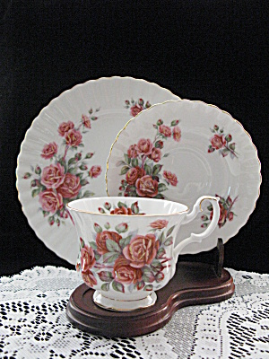 Vintage Royal Albert Trio- Centennial Rose