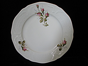 Rosenthal Sanccouci Ivory Moss Rose Salad/Dessert Plate (Image1)