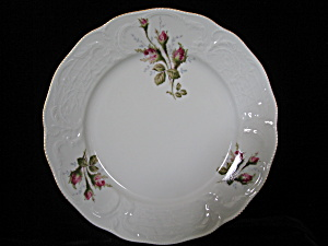 Rosenthal Sanccouci Ivory Moss Rose Bread/butter Plate