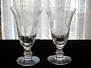 Tiffin Cherokee Rose Juice Tumblers - Pair