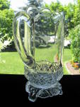 Click to view larger image of Eapg Antique Etched Jersey/Kitchen StovePitcher (Image3)
