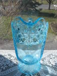 Click to view larger image of Eapg Blue Queen Pattern Water Pitcher (Image4)