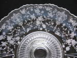 """Click to view larger image of Cambridge 3500 Rose Point 12"""" Footed Bowl (Image5)"""