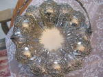 Click to view larger image of John Round & Sons Victorian Silver Pastry/Brides Basket (Image4)