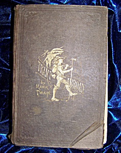 Mark Twain, A Tramp Abroad, Circa 1880's. HC with 328 illustrations. (Image1)