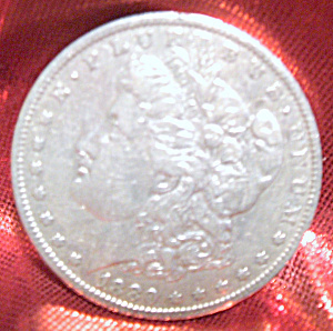 Morgan Silver Dollar 1880 O In Mint Condition.