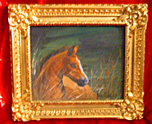Original Chincoteague pony painting by Jan Eichfeld (Image1)