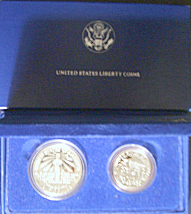 U.s. Liberty Coins Silver Commemorative, Ellis Island