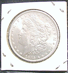 1885 Morgan Silver Dollar High Quality Ms Coin