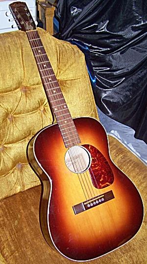 Elvis Era Goya guitar, Levin, grand concert acoustic w/ solid mahogany (Image1)
